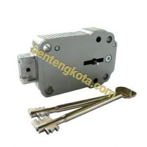 8-lever Doublebit Keylock