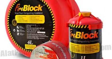 Alat Pemadam Api Otomatis FireBlock